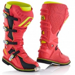 ACERBIS X-MOVE 2.0 RED/FLUO BOOTS