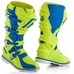 ACERBIS X-MOVE 2.0 YELLOW/BLUE BOOTS