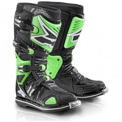 AXO A2 BOOTS BLACK/GREEN