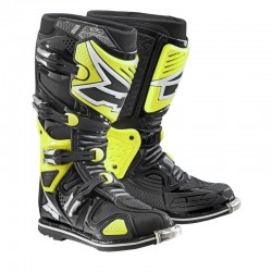 AXO A2 BOOTS BLACK/YELLOW