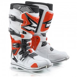 AXO A2 BOOTS WHITE/RED