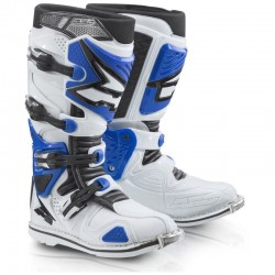 AXO A2 BOOTS WHITE/BLUE