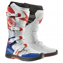 BUTY AXO MX ONE WHITE/BLUE/RED