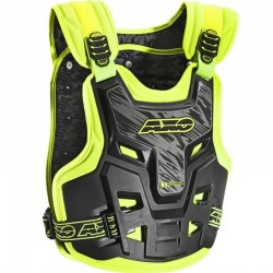 AXO DEFENDER CHEST AND BACK PROTECTOR BLACK/YELLOW