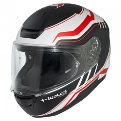 KASK HELD by SCHUBERTH H-R2 RIDE BLACK/RED