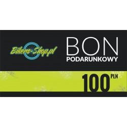BON PODARUNKOWY 100ZŁ BIKERS-SHOP.PL