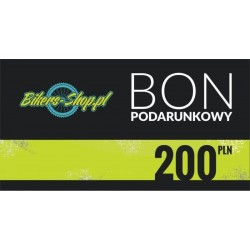 BON PODARUNKOWY 200ZŁ BIKERS-SHOP.PL