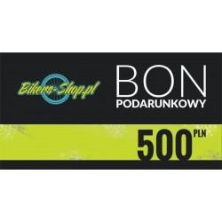 BON PODARUNKOWY 500ZŁ BIKERS-SHOP.PL