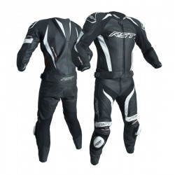 RST TRACTECH EVO III CE WHITE LEATHER SUIT