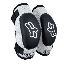FOX JUNIOR PW-1 TITAN ELBOW BLACK/SILVER