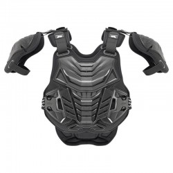 AXO PENTAGON MORPHO FRAME CHEST AND BACK PROTECTOR BLACK