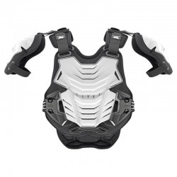 AXO PENTAGON MORPHO FRAME CHEST AND BACK PROTECTOR WHITE