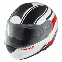 KASK HELD by SCHUBERTH H-C3 TRIP BLACK/WHITE/RED