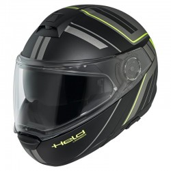 KASK HELD by SCHUBERTH H-C4 TOUR BLLACK/FLO YELLOW
