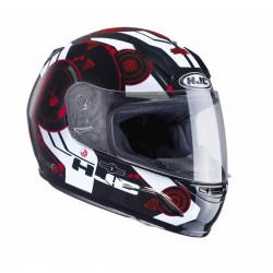 KASK HJC CL-Y JUNIOR SIMITIC BLACK/RED