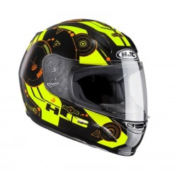 KASK HJC CL-Y JUNIOR SIMITIC BLACK/YELLOW