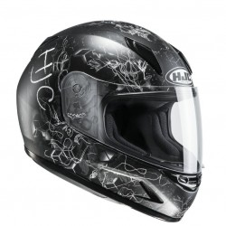 KASK HJC CL-Y JUNIOR VELA BLACK/GREY