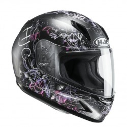 KASK HJC CL-Y JUNIOR VELA BLACK/GREY/PINK