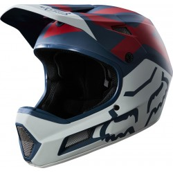 FOX RAMPAGE COMP PREME BLUE/RED HELMET