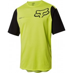 FOX ATTACK PRO JERSEY YELLOW/BLACK 2018