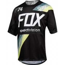 FOX DEMO JERSEY DRAFTER BLACK 2018