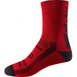 FOX 8 BRIGHT RED SOCKS