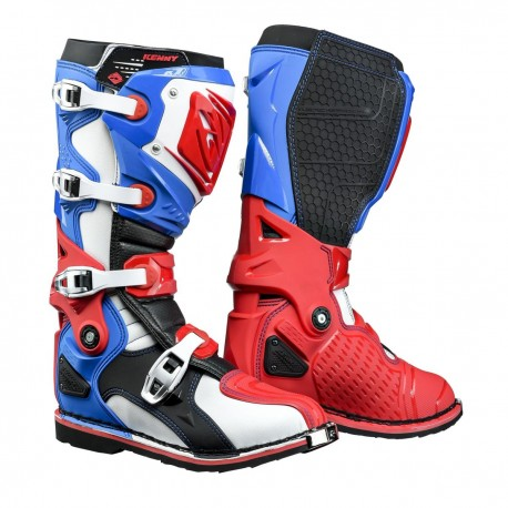 BUTY KENNY TITANIUM BLUE/WHITE/RED