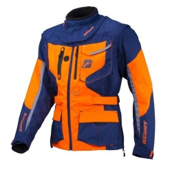 KENNY TITANIUM NAVY/ORANGE JACKET ENDURO 2018