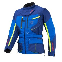 KENNY TITANIUM NAVY/CYAN JACKET ENDURO 2018