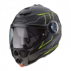 CABERG DROID BLAZE HELMET BLACK MATT/YELLOW FLUO