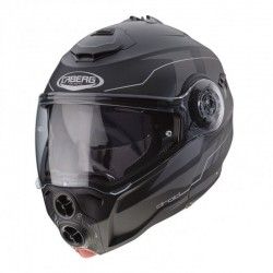 CABERG DROID BLAZE HELMET BLACK MATT GREY