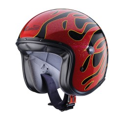 CABERG FREERIDE FLAME BLACK/RED