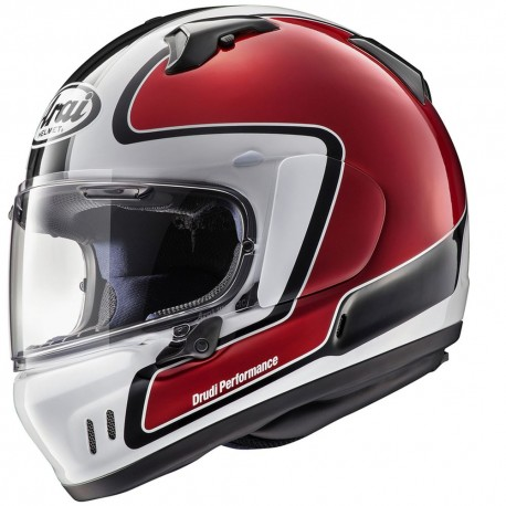 ARAI RENEGADE-V HELMET OUTLINE RED