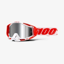 100% RACECRAFT PLUS (+) BILAL GOGGLES - MIRRORED LENS