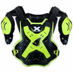 UFO X-CONCEPT CHEST PROTECTOR BLACK FLUO BODY ARMOUR
