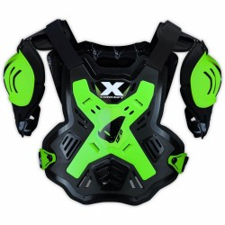 UFO X-CONCEPT CHEST PROTECTOR GREEN FLUO BODY ARMOUR