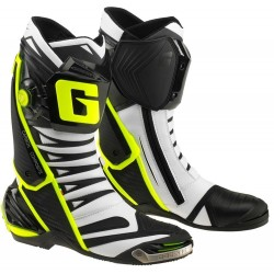 GAERNE GP1 EVO BOOTS BLACK/WHITE/FLUO YELLOW