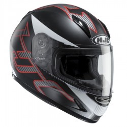 KASK HJC CL-Y JUNIOR GOLI BLACK/GREY/RED