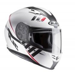 KASK HJC CS-15 SPACE WHITE/RED