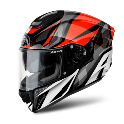AIROH ST501 THUNDER RED GLOSS HELMET