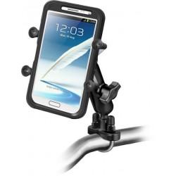 Uniwersalny uchwyt Ram Mounts X-Grip™ IV do dużych smartfonów montowany do ramy kierownicy