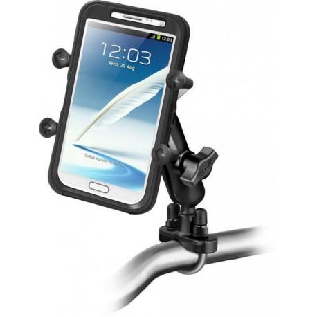 RAM Handlebar U-Bolt Mount with Universal RAM® X-Grip® Large Phone/Phablet Cradle
