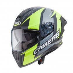 CABERG DRIFT EVO SPEEDSTER G1 MATT BLACK/ANTHRACITE/YELLOW FLUO HELMET