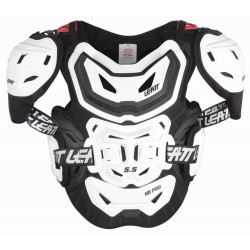 BUZER LEATT CHEST PROTECTOR 5.5 PRO HD BIAŁY