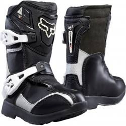 FOX KIDS COMP 5K BOOTS BLACK/SILVER