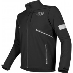 FOX LEGION SOFTSHELL BLACK JACKET