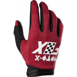FOX DIRTPAW CZAR CARDINAL GLOVES