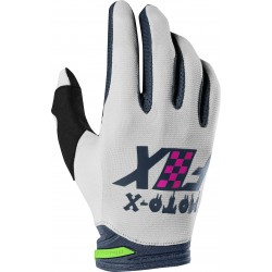 FOX DIRTPAW CZAR LIGHT GREY GLOVES