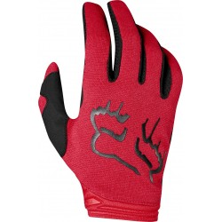 FOX LADY DIRTPAW MATA FLAME RED GLOVES