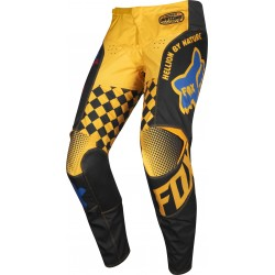 FOX 180 CZAR BLACK/YELLOW PANTS